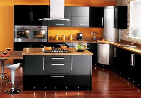 black gloss kitchen ideas cocinas empotradas en caracas 187 muebles caracas