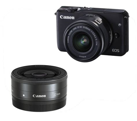 canon eos m compact system buy canon eos m10 compact system wide angle zoom