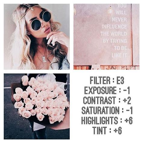 cute themes for instagram rizanoia 20 vsco cam filters for pink instagram feed