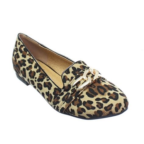 gold loafers for womens womens interlinked gold loop charm flat smart shoes