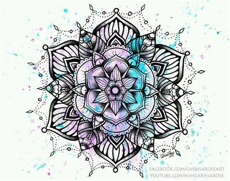 watercolor tattoos bristol pin by hoamacthan on vẽ mandala and