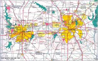 dallas on map city maps perry casta 241 eda map collection ut