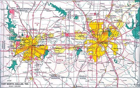 dallas texas traffic map u s metropolitan area maps perry casta 241 eda map collection ut library