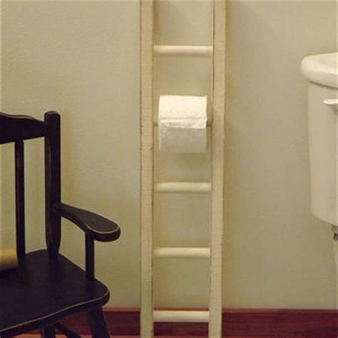 decorative ladder for bathroom ladder toilet paper holder rustic bathroom decor