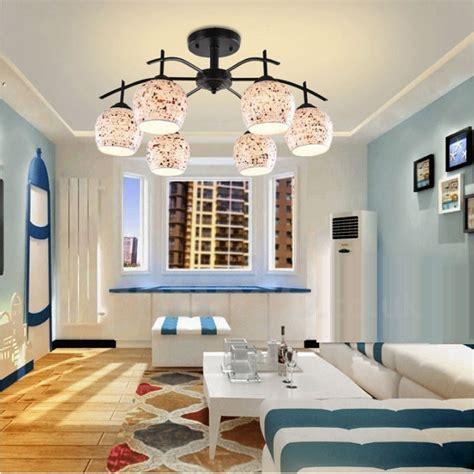 light mediterranean style led integrated living room