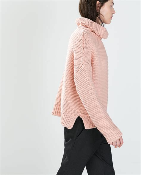 Supplier Zahra Top By Ayn high neck sweater knitwear zara