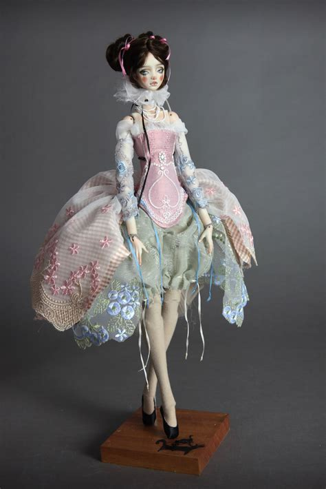 porcelain doll on carousel 15 quot valentina carrousel doll jointed