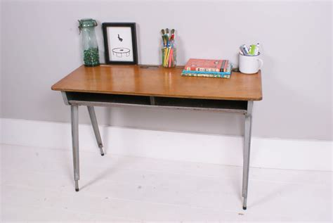 Kid School Desk Children S Esavian School Desk Table With Shelf 171 Blueticking