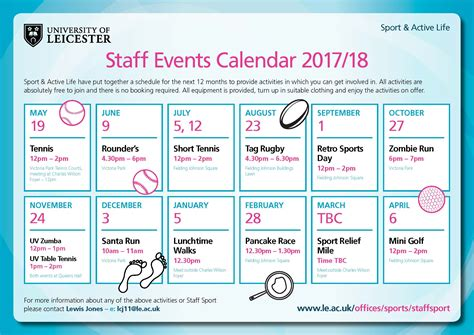 convention uk calendar staff sport of leicester