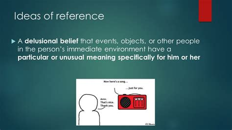 ideas of reference schizophrenia psychotic disorders ppt video online