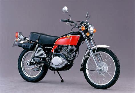 Motorrad Honda Xl 250 by Honda Sl 250 Und Xl 250 1972 1986 Vierventiler Auf