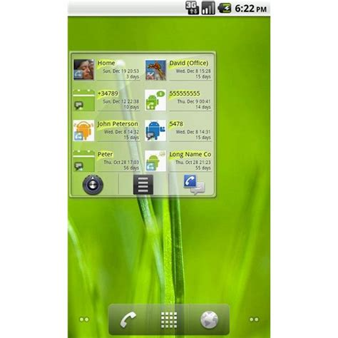 contact widget for android best android contacts widget options