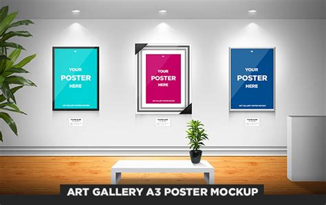photo gallery psd template gallery a3 poster mockup by odindesign on deviantart