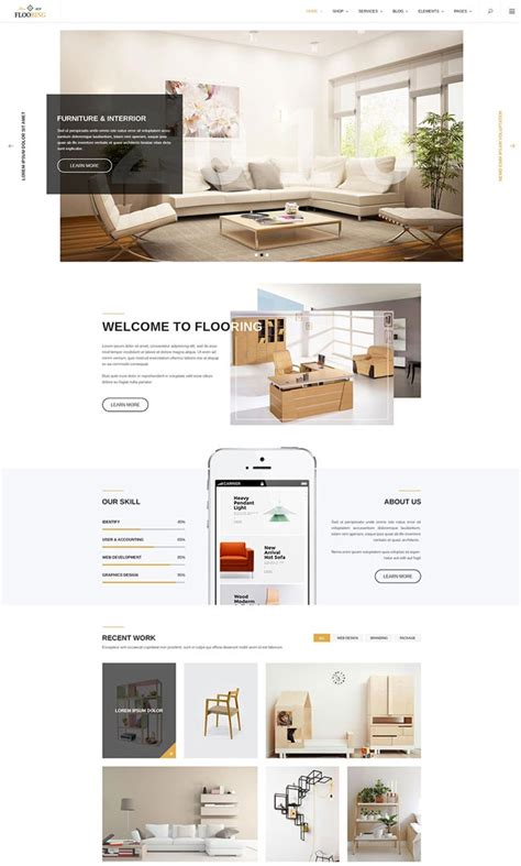 wordpress themes interior design 20 best interior design wordpress themes 2016 designmaz