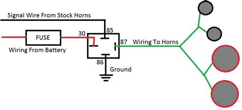wiring diagram for a dixie horn images wiring diagram