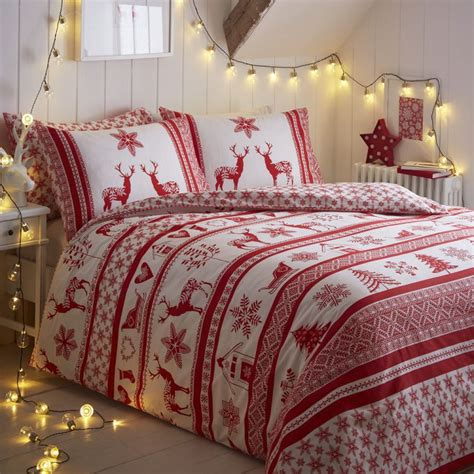 Country Bedroom Comforter Sets Iceland Red Christmas Duvet Cover Tonys Textiles