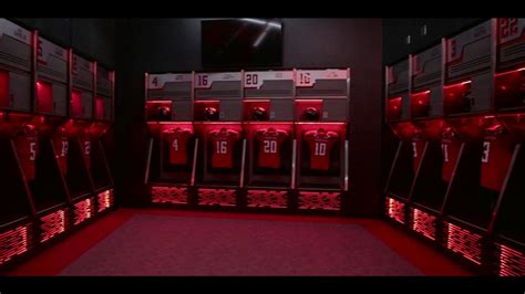 walb sports locker room tech s new football locker room