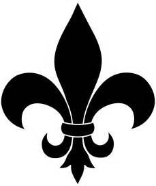 symbol le black fleur de lis silhouette clip