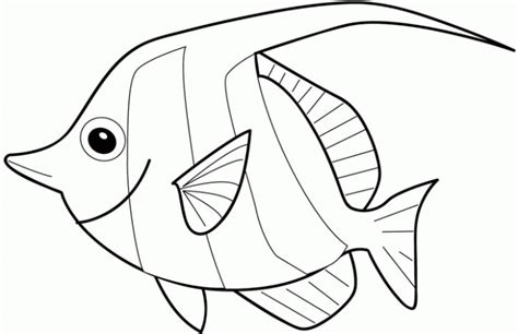 Free Fish Coloring Pages For Kids Gt Gt Disney Coloring Pages Printable Fish Coloring Pages