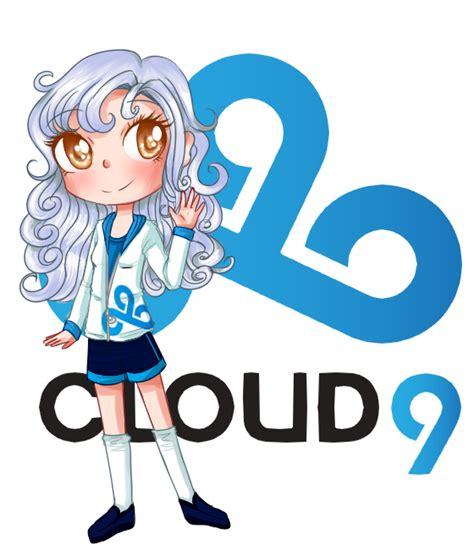 cloud 9 hair logo lol e sports mascots cloud 9 by goldenchase on deviantart