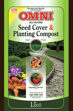 gro  brands  omni planting compost seed cover