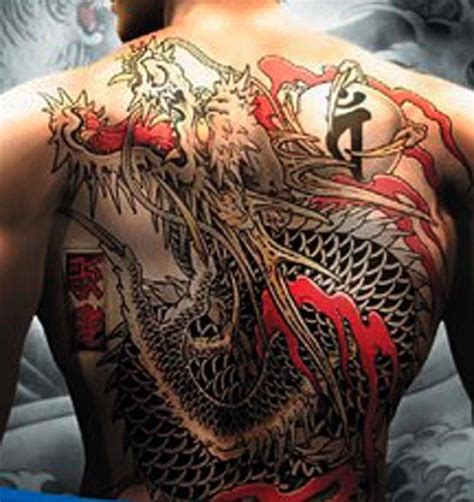 yakuza head tattoo universal tattoo japanese yakuza tattoo