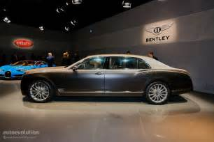 Who Is Bentley Made By How Bentley Made The Mulsanne Ewb Wheelbase Look