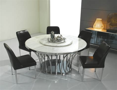 Dining Tables: astonishing round stone dining table Stone