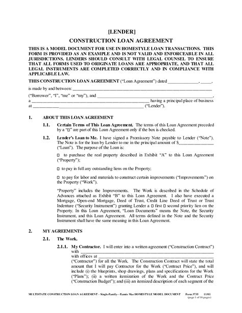 Genealogy Letter Of Agreement 12 Best Images Of Sle Loan Agreement Between Friends