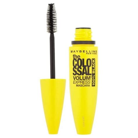 maybelline colossal volum express mascara 100 black 10
