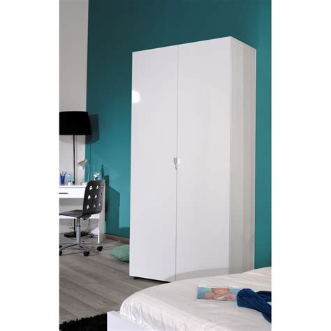 White Gloss Wardrobe white gloss 2 door wardrobe wardrobes