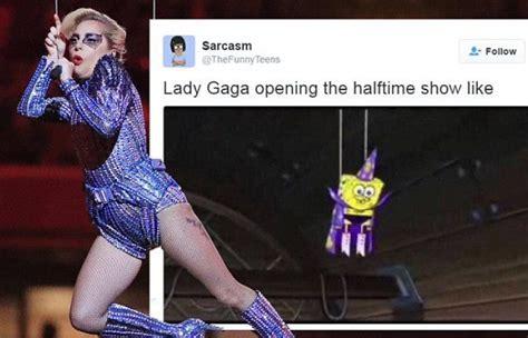 Lady Gaga Super Bowl Memes - lady gaga s super bowl performance subject of many memes