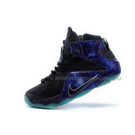 buy cheap buy cheap nike lebron 12 2015 black blue mens shoes price