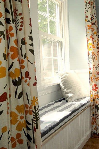 curtains for window seat window bench seat floral curtains retro vintage granny
