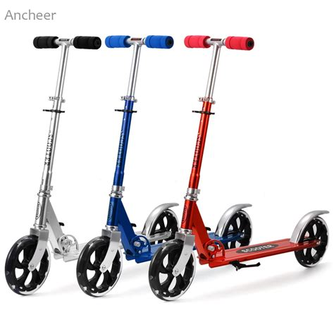 kids scooter with big wheels hot sale aluminum alloy foot scooters adult children