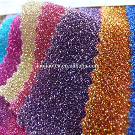 weft knit weft knitted lurex fabric for 2015 new fashion dress buy