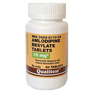 Amlodipin 10 Mg amlodipine besylate 10 mg 90 tablets vetdepot