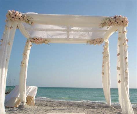 toldo de playa decoracion de toldo boda en la playa boda