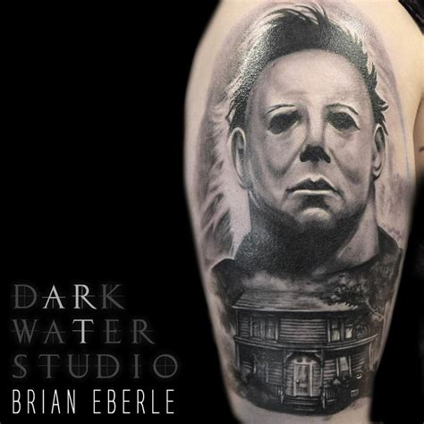 michael myers by shawn morrissette tattoonow