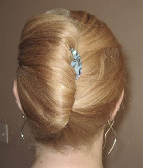 hair in a french roll french twist hairstyles beautiful hairstyles