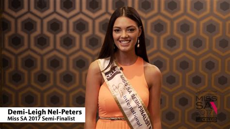 Win Money Competitions In South Africa 2017 - what you never knew about miss universe 2017 demi leigh nel peters madam magazine kenya