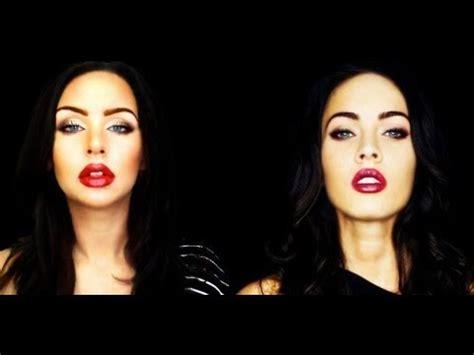 tutorial makeup megan fox megan fox makeup tutorial youtube