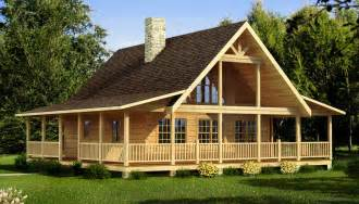 small log cabin plans with loft