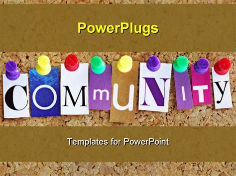 Community Service Powerpoint Template Community Service Powerpoint Templates Candyprogs
