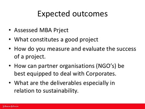 Mba Project On Ngo by Smp He Fe Forum Sector Study Johnson And