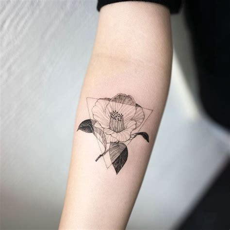 camellia flower tattoo designs 25 best ideas about minimalist tattoos on