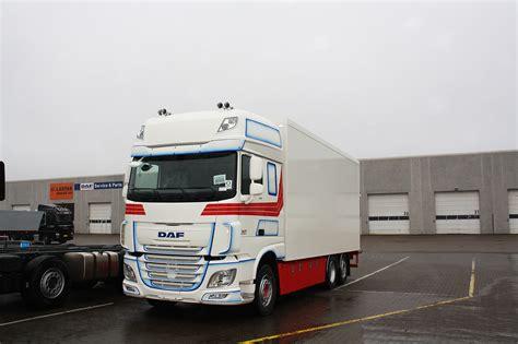 lastas trucks danmark a s lastas trucks danmark a s leverer en daf xf 510 far ssc as