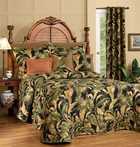 La Selva Black Bedspread By Thomasville Home Thomasville Bedding Sets