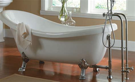 free standing jacuzzi bathtubs jacuzzi era slipper freestanding bathtub tubs and more
