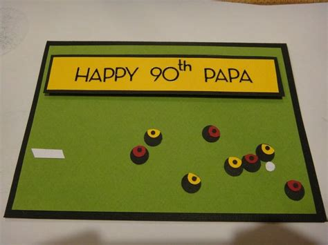 Bowls Birthday Card 20 Best Images About Lawn Bowls Card On Pinterest Card